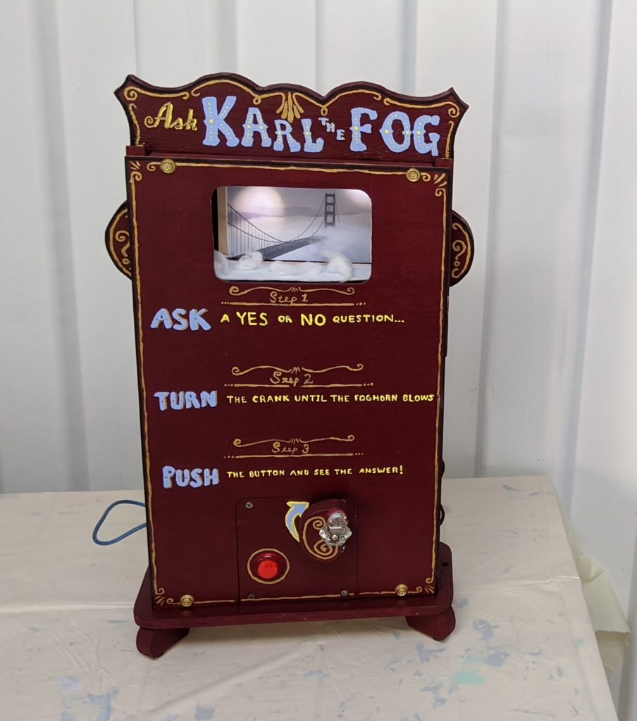 Picture of Ask Karl the Fog, a fortune telling machine